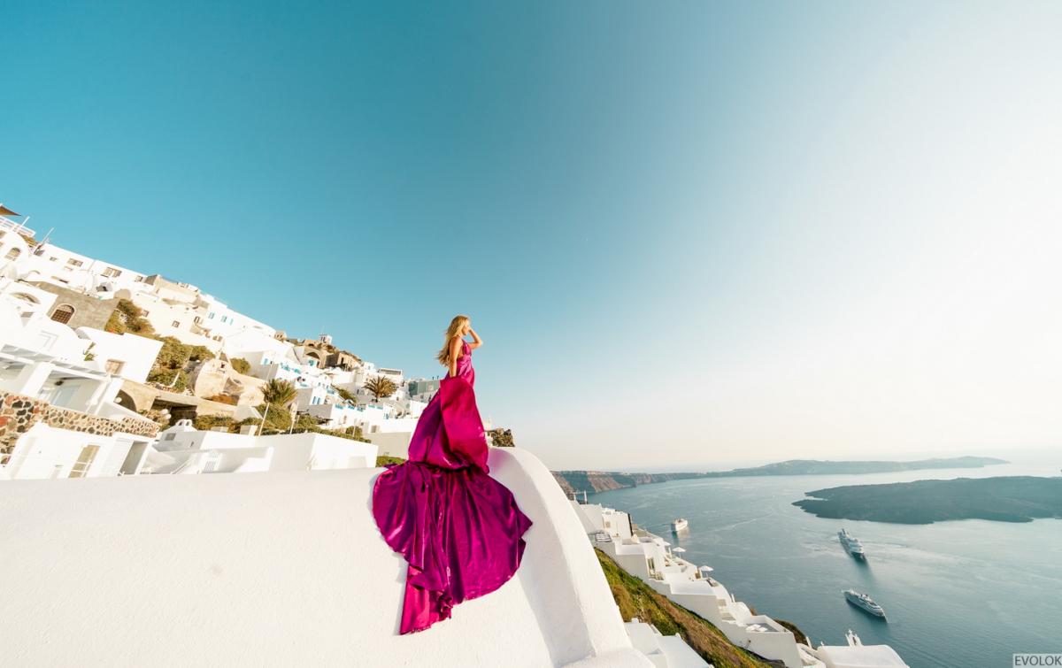 Елена и Виталик: свадьба на санторини, свадебное агентство Julia Veselova - Фото 18