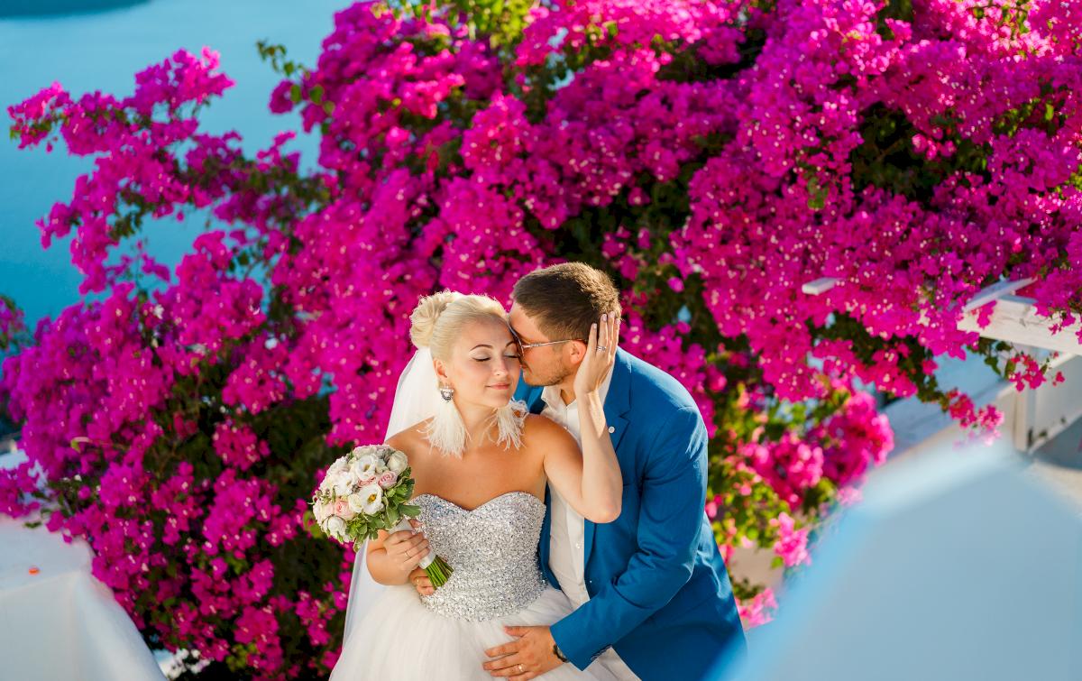 Екатерина и Дмитрий: свадьба на санторини, свадебное агентство Julia Veselova - Фото 1