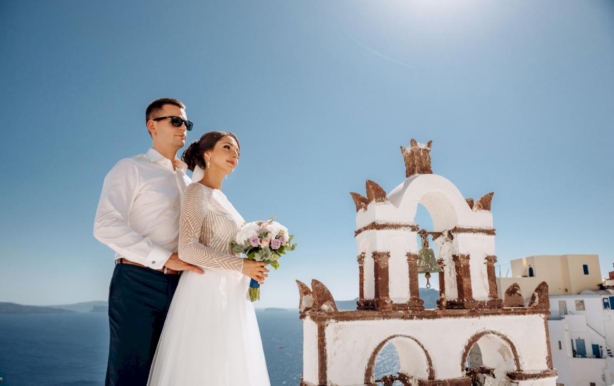 Анастасия и Иван: свадьба на санторини, свадебное агентство Julia Veselova - Фото 16