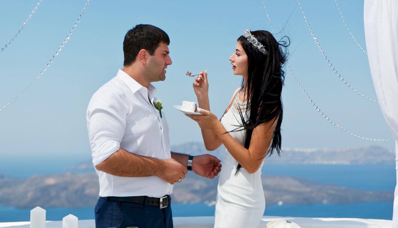 Зарина и Ованес: свадьба на санторини, свадебное агентство Julia Veselova - Фото 5