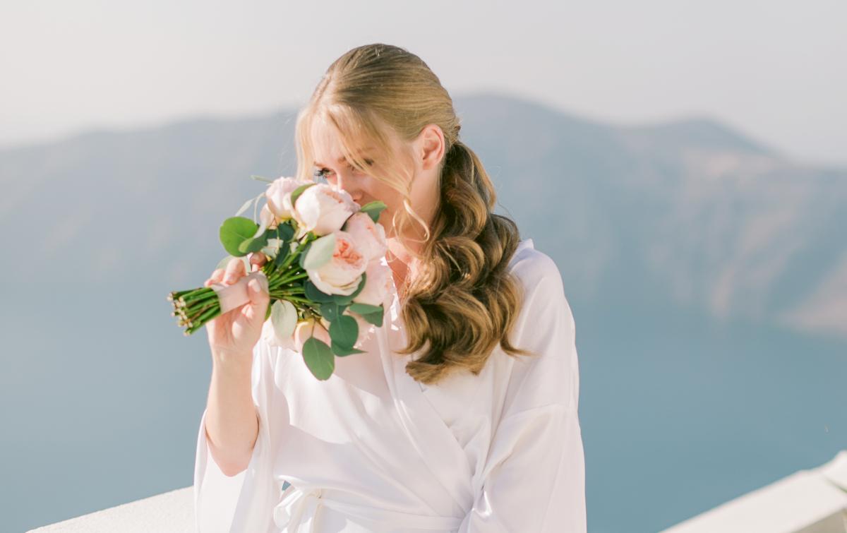 Алина и Cалех: свадьба на санторини, свадебное агентство Julia Veselova - Фото 4