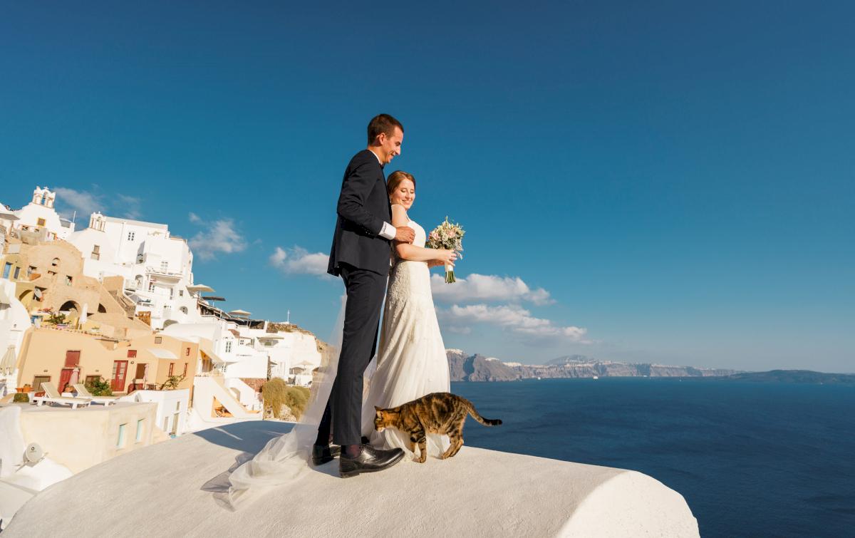 Виолетта и Александр: свадьба на санторини, свадебное агентство Julia Veselova - Фото 5