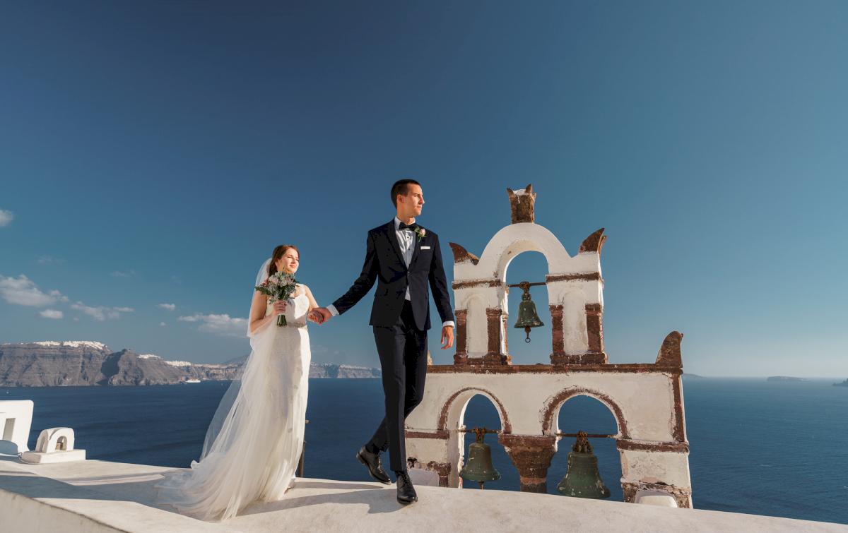 Виолетта и Александр: свадьба на санторини, свадебное агентство Julia Veselova - Фото 4