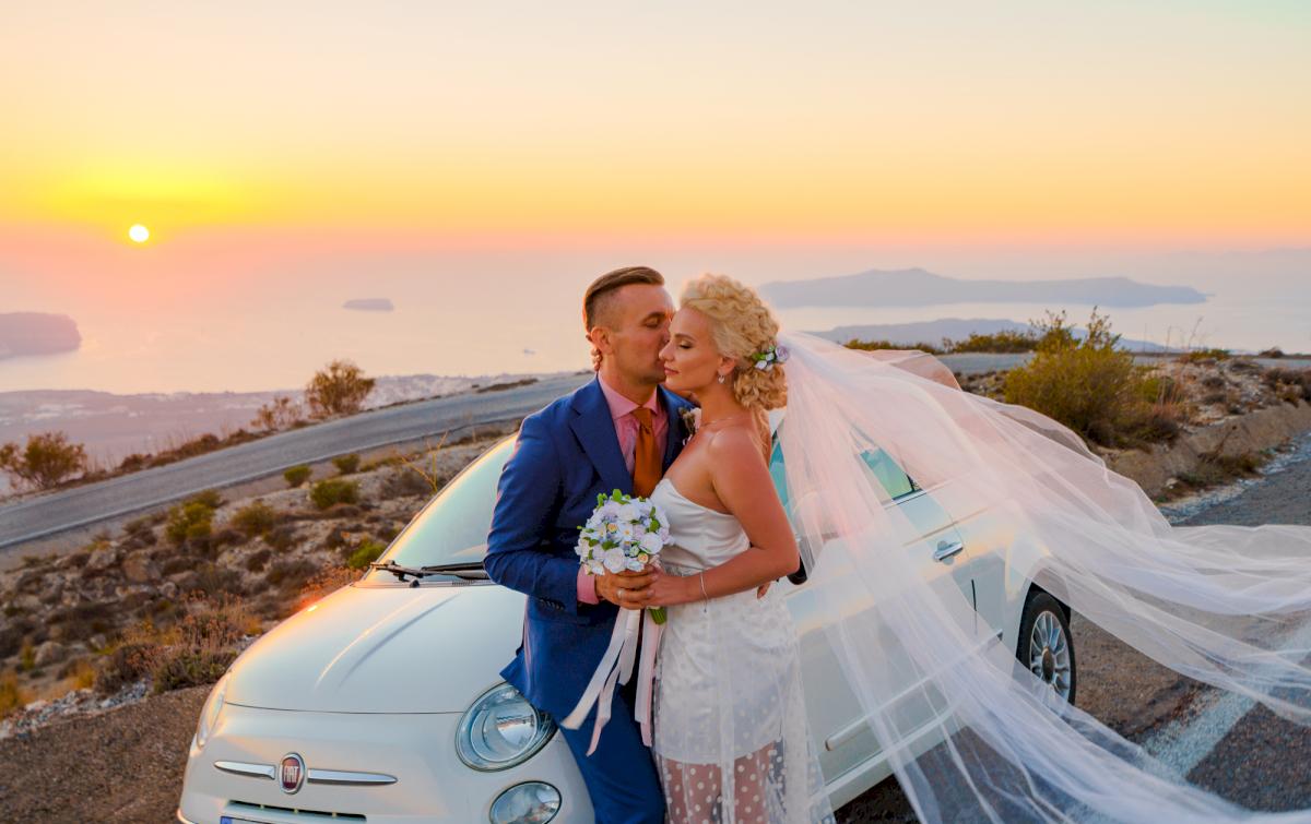 Екатерина и Андрей: свадьба на санторини, свадебное агентство Julia Veselova - Фото 8