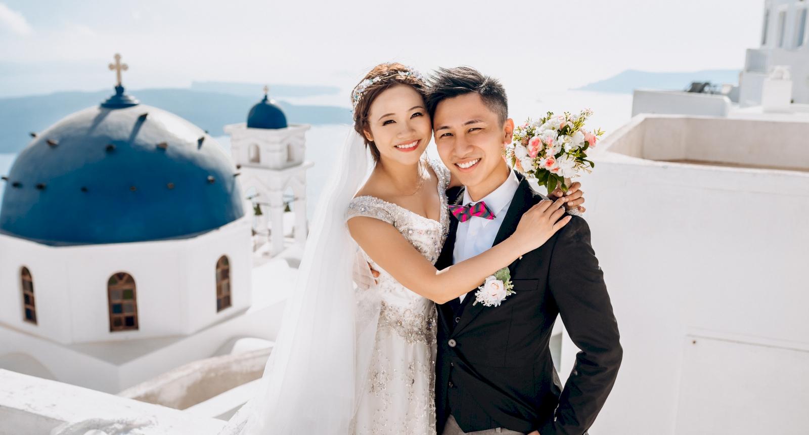 Sugar and Joe: свадьба на санторини, свадебное агентство Julia Veselova - Фото 1