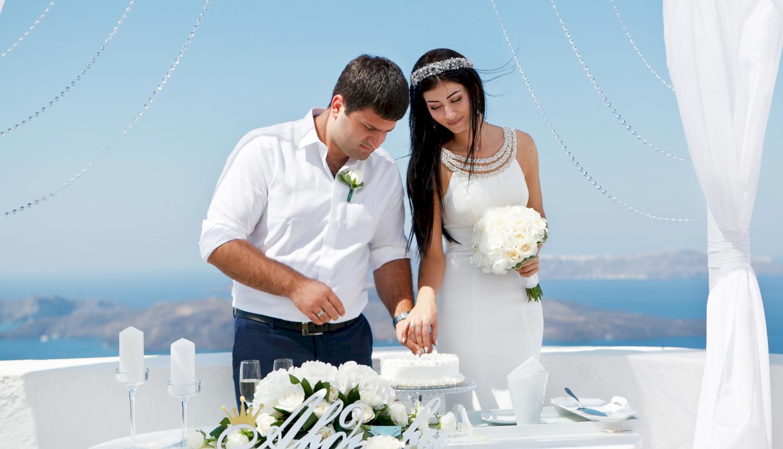 Зарина и Ованес: свадьба на санторини, свадебное агентство Julia Veselova - Фото 4