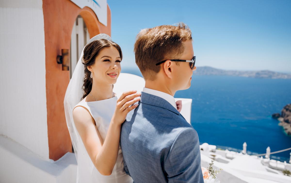 Алексей и Ольга: свадьба на санторини, свадебное агентство Julia Veselova - Фото 4