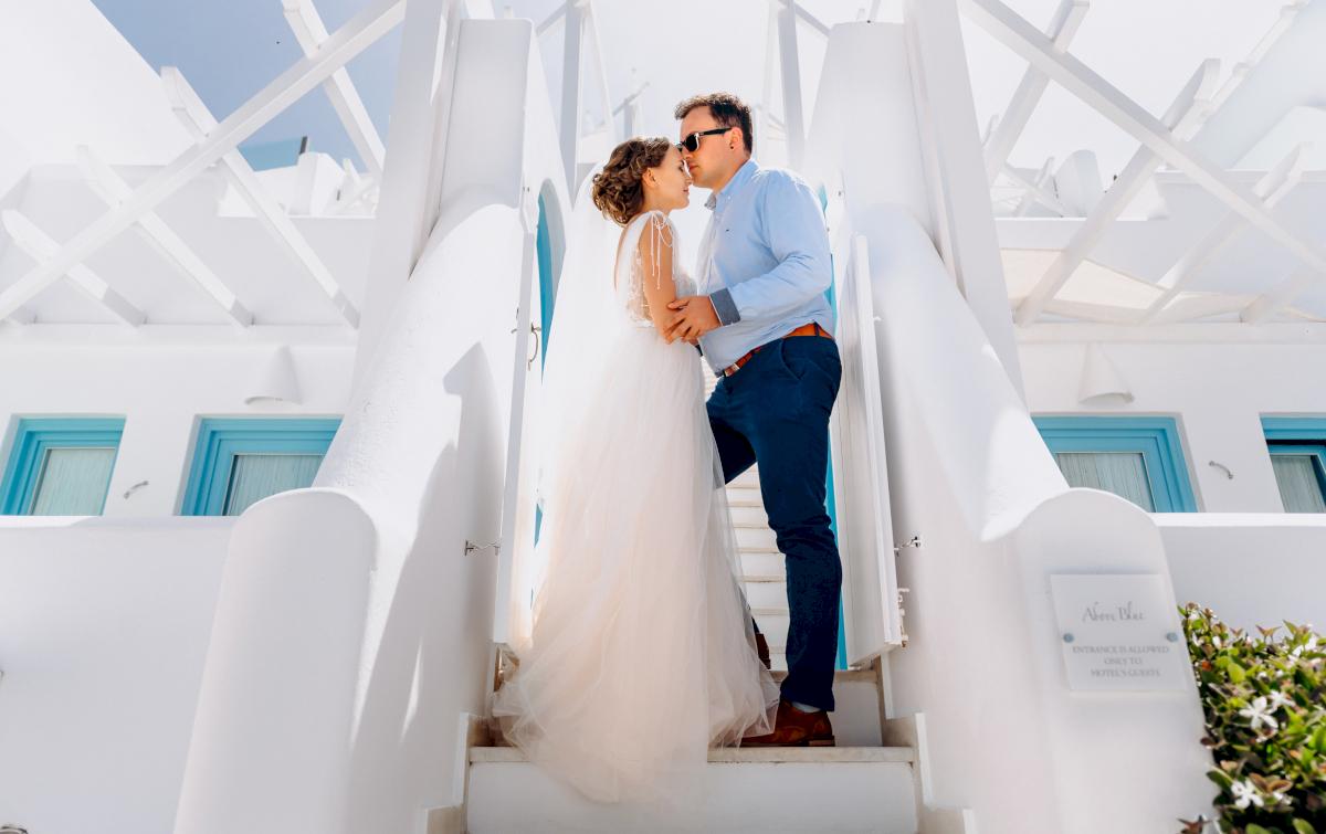 Анна и Андрей: свадьба на санторини, свадебное агентство Julia Veselova - Фото 7