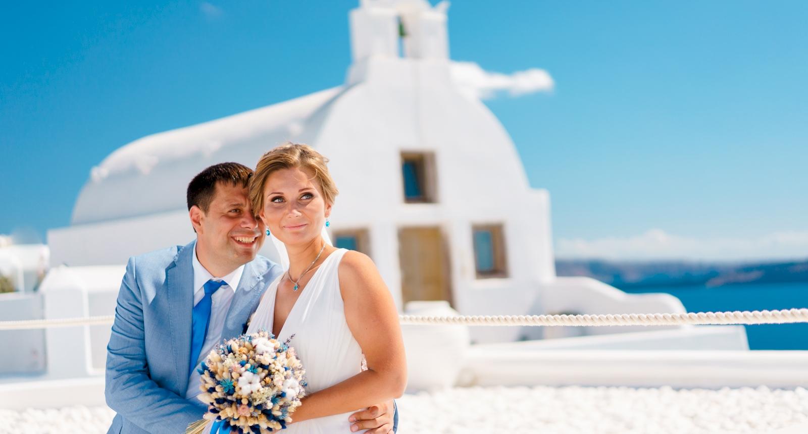 Мария и Алексей: свадьба на санторини, свадебное агентство Julia Veselova - Фото 4
