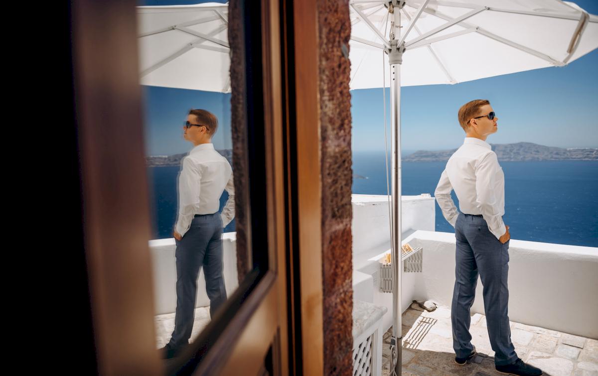 Алексей и Ольга: свадьба на санторини, свадебное агентство Julia Veselova - Фото 1