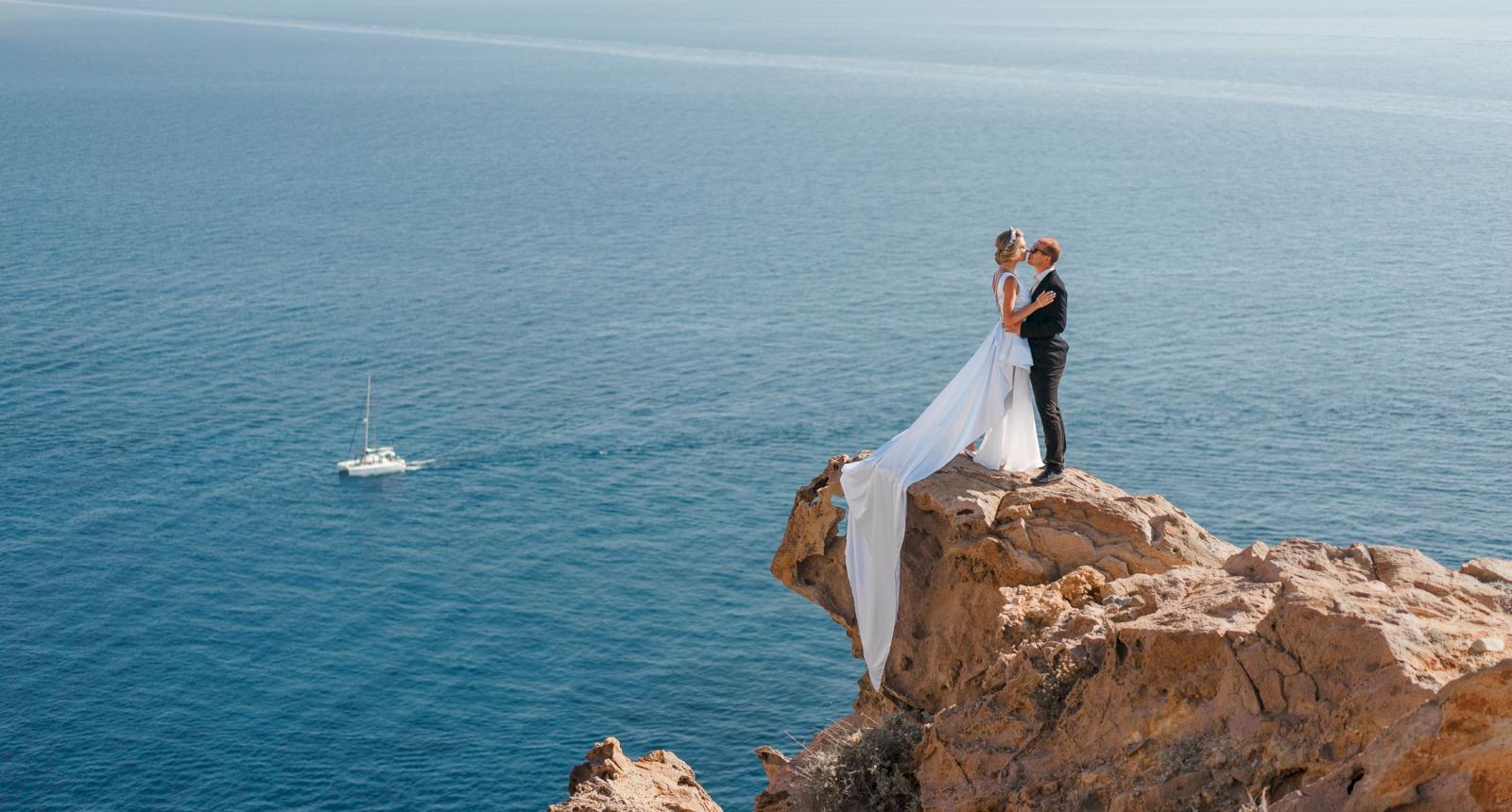 Елена и Олег: свадьба на санторини, свадебное агентство Julia Veselova - Фото 7