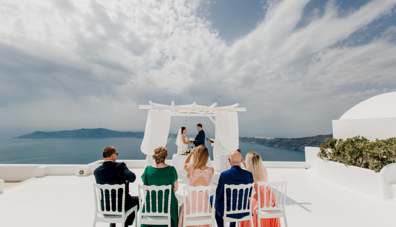 Юлия и Максим: свадьба на санторини, свадебное агентство Julia Veselova - Фото 4
