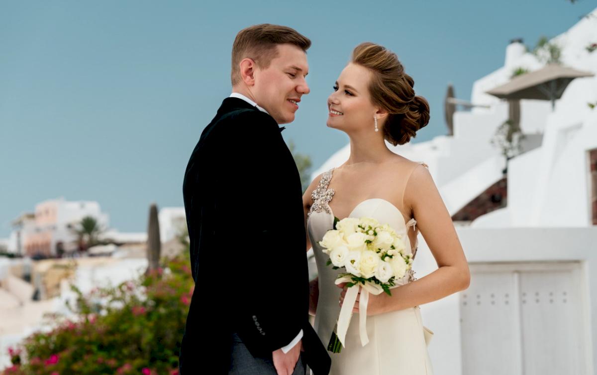 Любовь и Антон: свадьба на санторини, свадебное агентство Julia Veselova - Фото 3