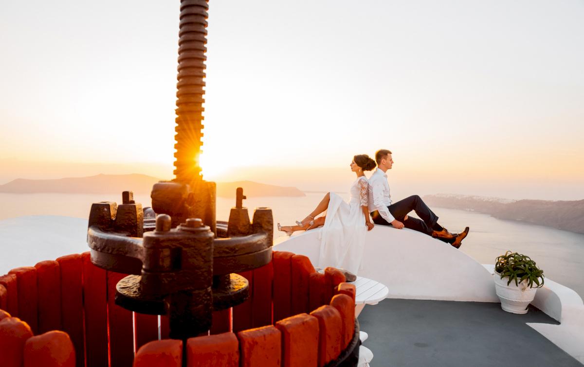 Анастасия и Иван: свадьба на санторини, свадебное агентство Julia Veselova - Фото 18