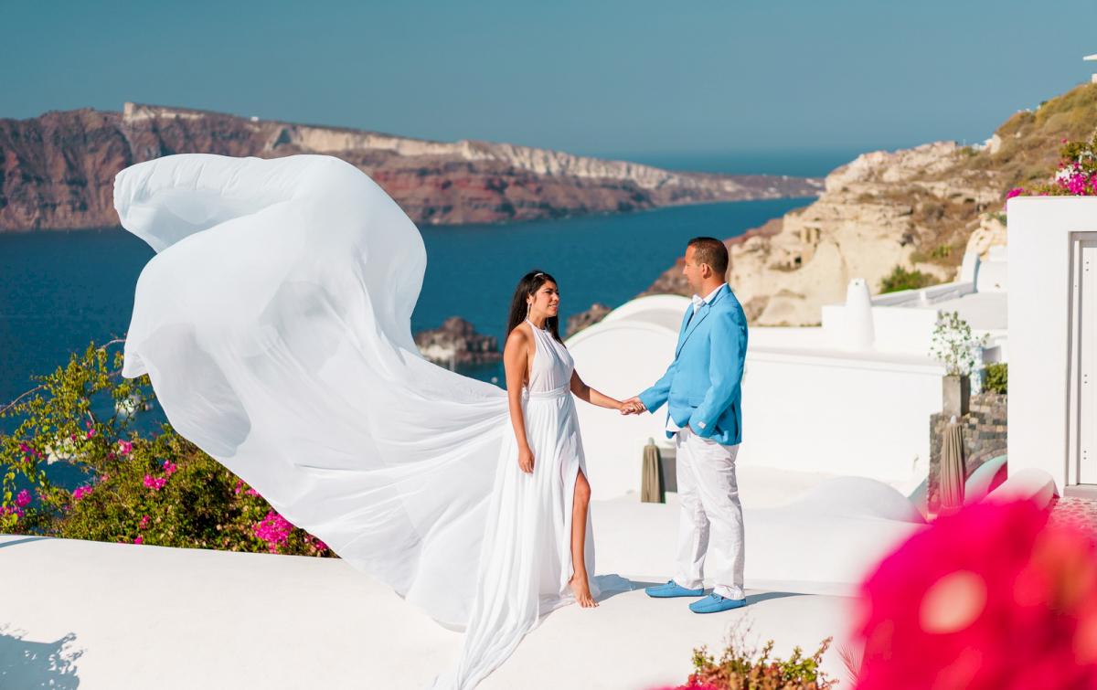 Иветта: свадьба на санторини, свадебное агентство Julia Veselova - Фото 10