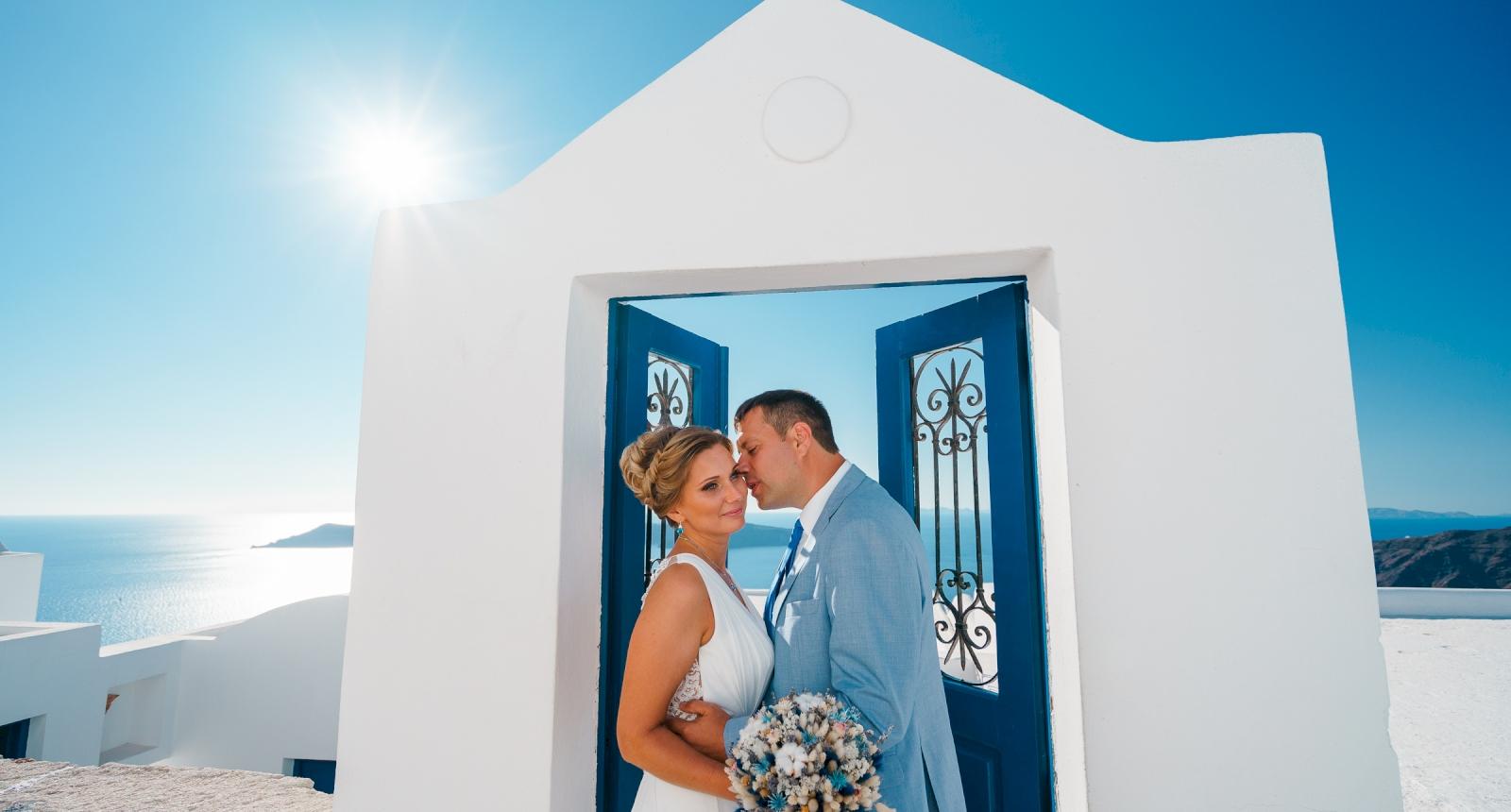 Мария и Алексей: свадьба на санторини, свадебное агентство Julia Veselova - Фото 5