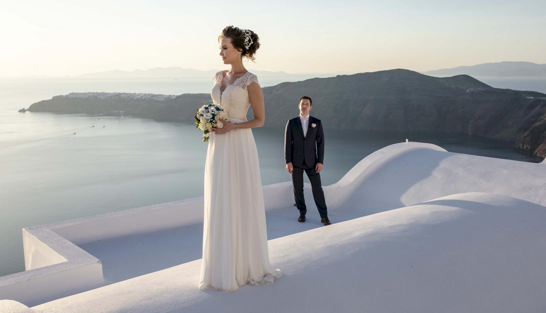 Наталья и Сергей: свадьба на санторини, свадебное агентство Julia Veselova - Фото 1