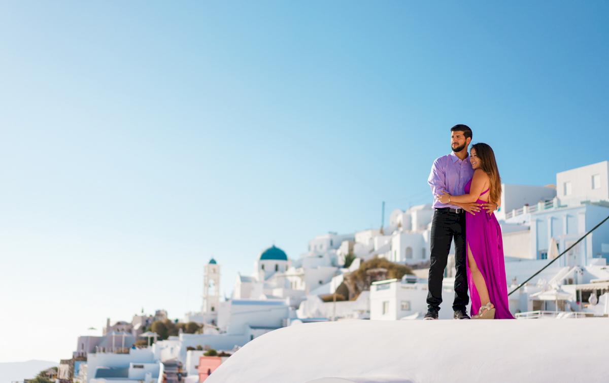 Levy Shady: свадьба на санторини, свадебное агентство Julia Veselova - Фото 19