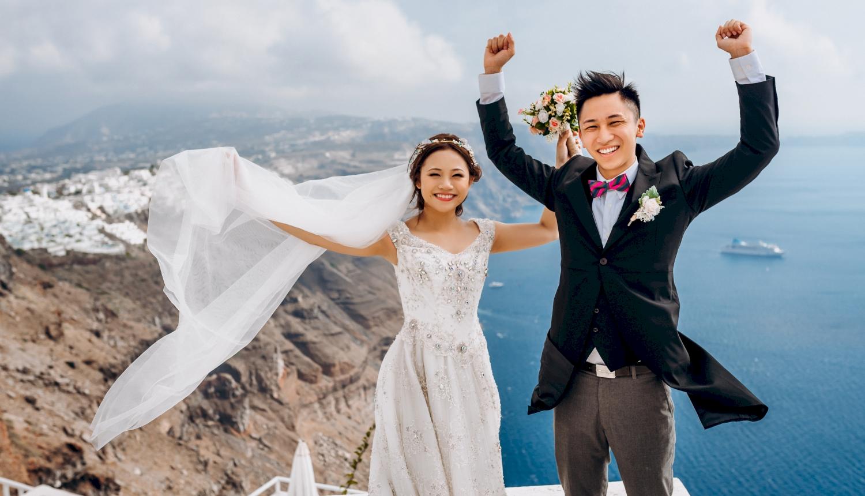 Sugar and Joe: свадьба на санторини, свадебное агентство Julia Veselova - Фото 4
