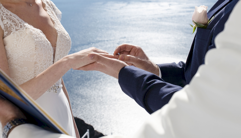 Наталья и Сергей: свадьба на санторини, свадебное агентство Julia Veselova - Фото 10