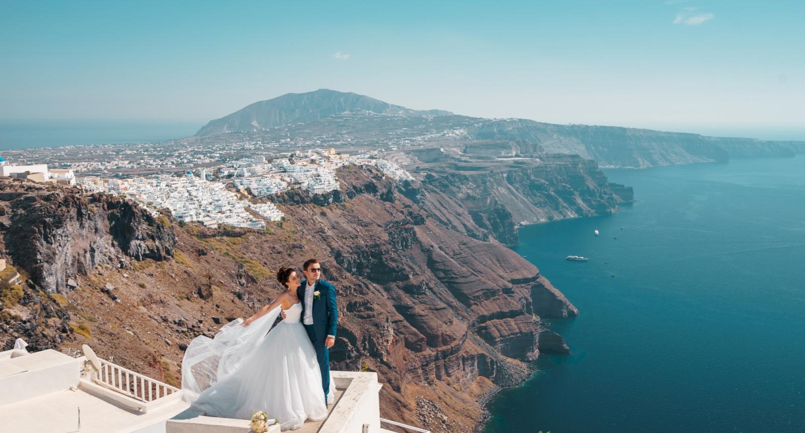 Яна и Денис: свадьба на санторини, свадебное агентство Julia Veselova - Фото 4