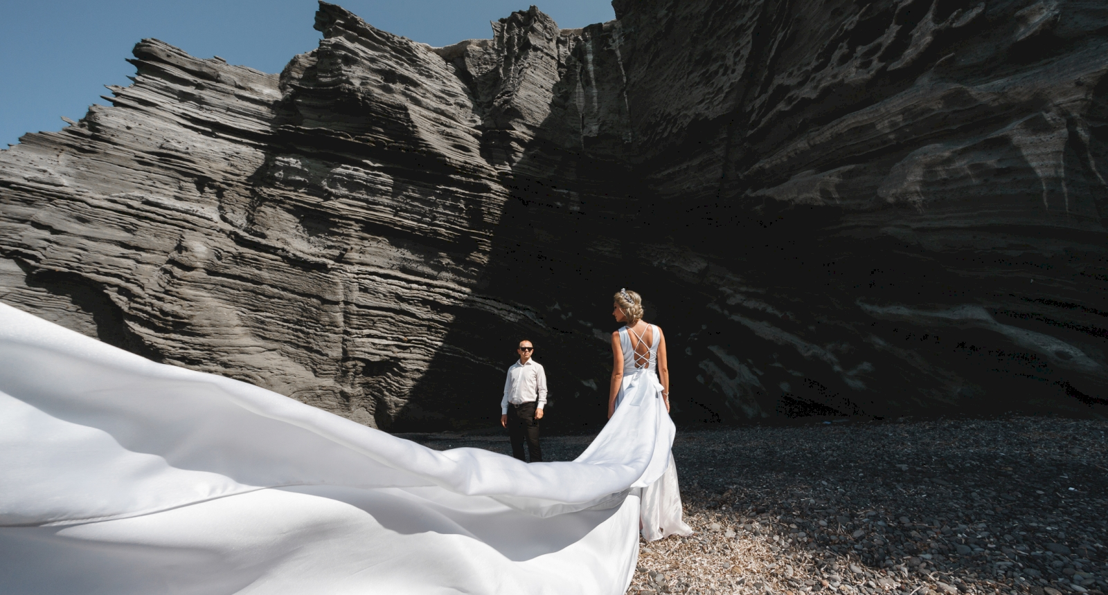 Елена и Олег: свадьба на санторини, свадебное агентство Julia Veselova - Фото 6