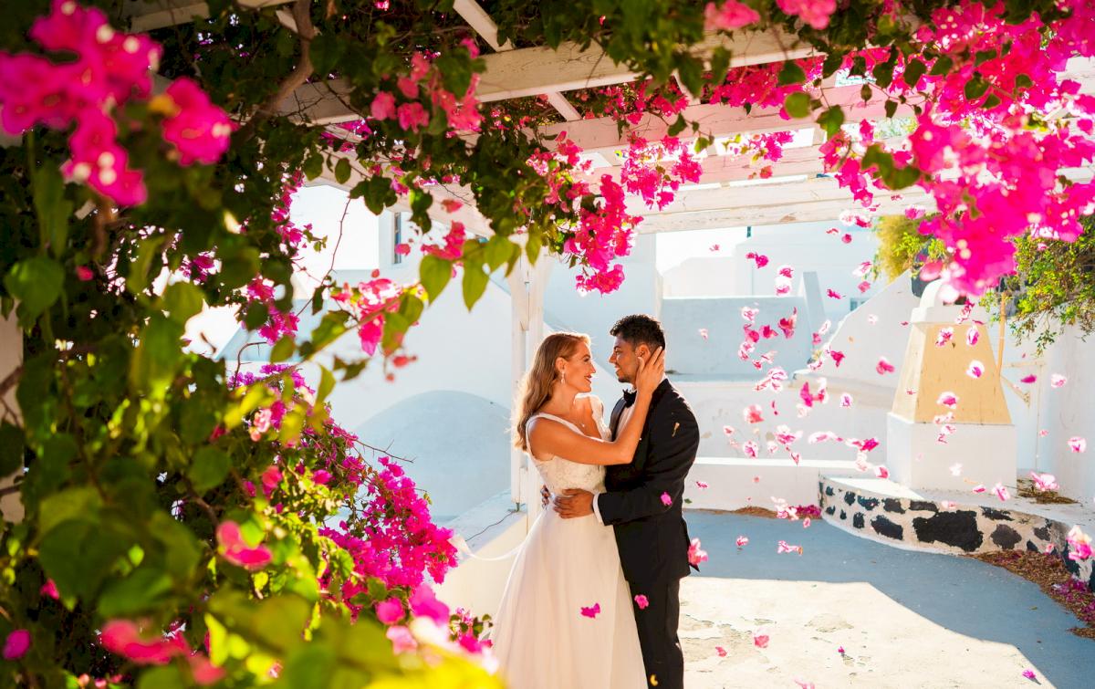 Фредди и Маргарет: свадьба на санторини, свадебное агентство Julia Veselova - Фото 12