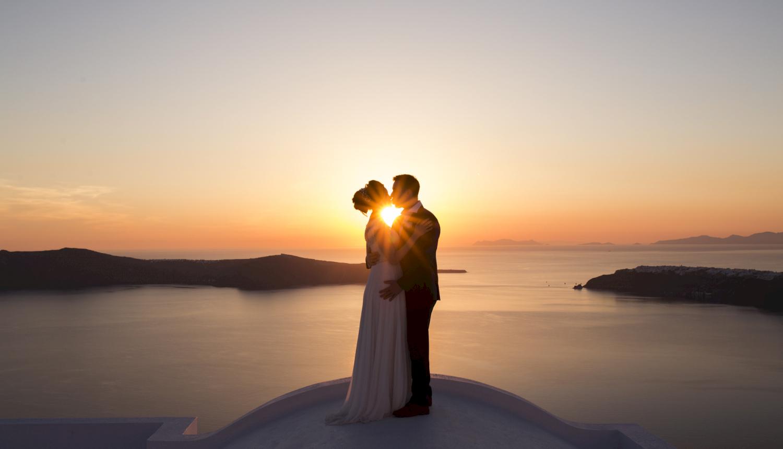 Наталья и Сергей: свадьба на санторини, свадебное агентство Julia Veselova - Фото 15