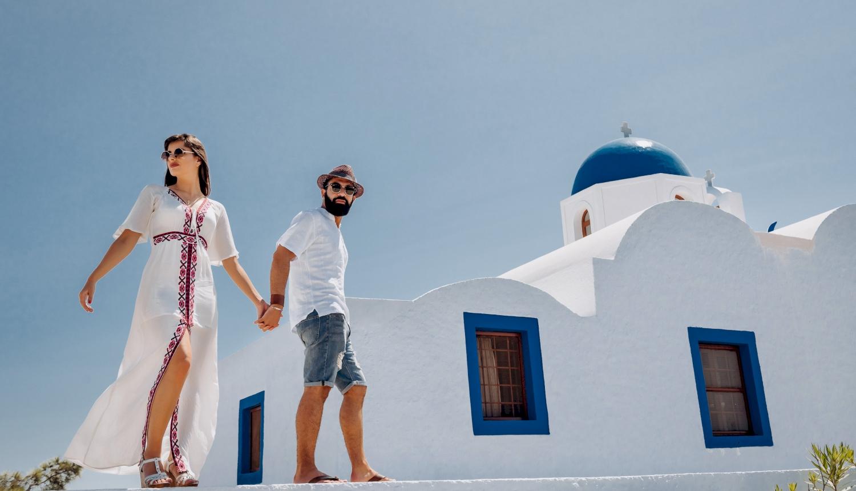 Joanna and James: свадьба на санторини, свадебное агентство Julia Veselova - Фото 7