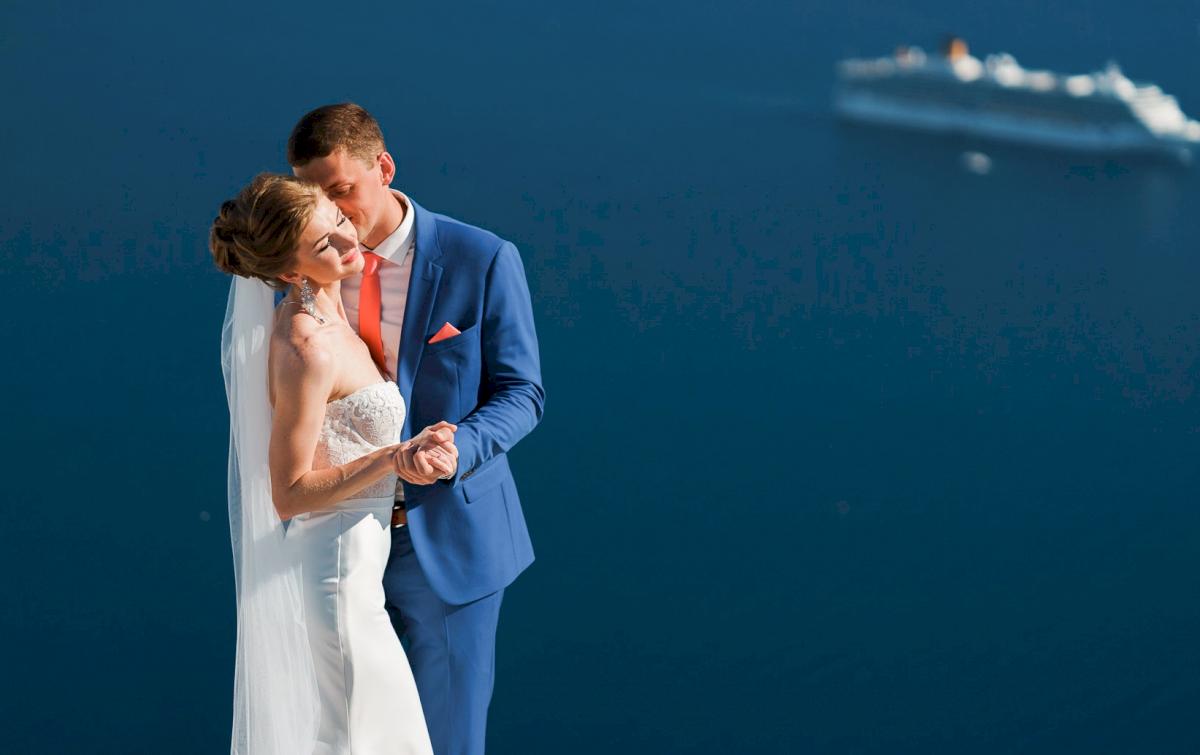Алена и Рома: свадьба на санторини, свадебное агентство Julia Veselova - Фото 8