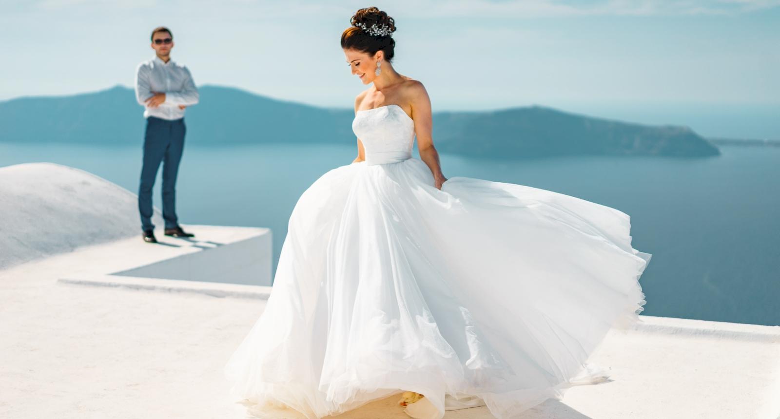 Яна и Денис: свадьба на санторини, свадебное агентство Julia Veselova - Фото 9
