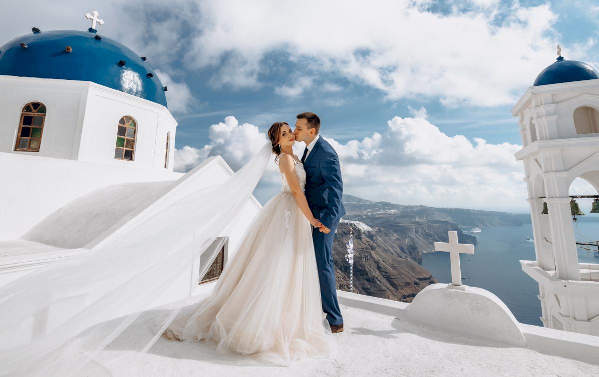 Юлия и Ярослав: свадьба на санторини, свадебное агентство Julia Veselova - Фото 10