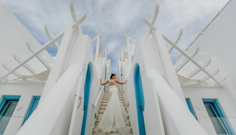 Юлия и Максим: свадьба на санторини, свадебное агентство Julia Veselova - Фото 12