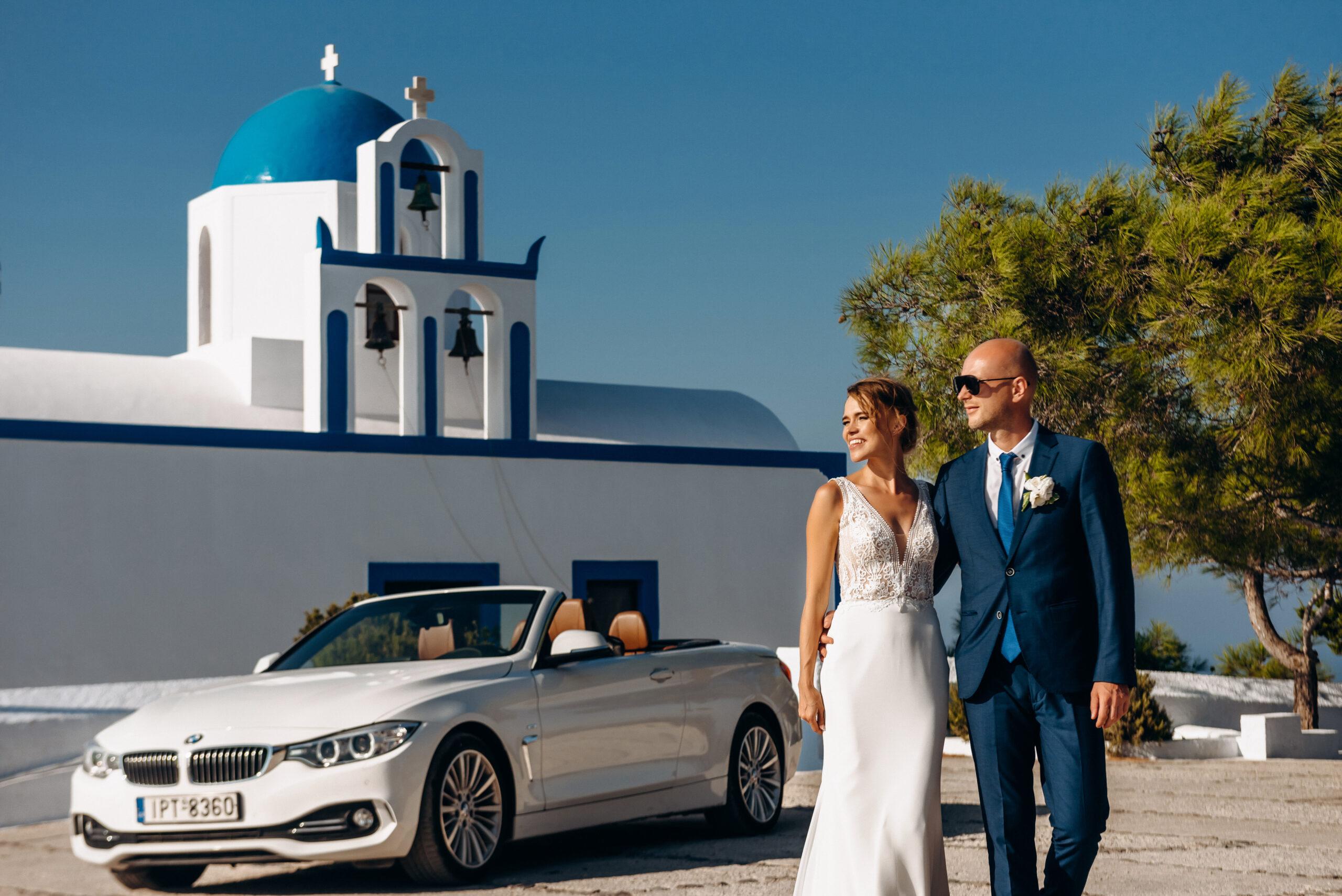 Аренда автомобилей: свадьба на санторини, свадебное агентство Julia Veselova - Фото 5