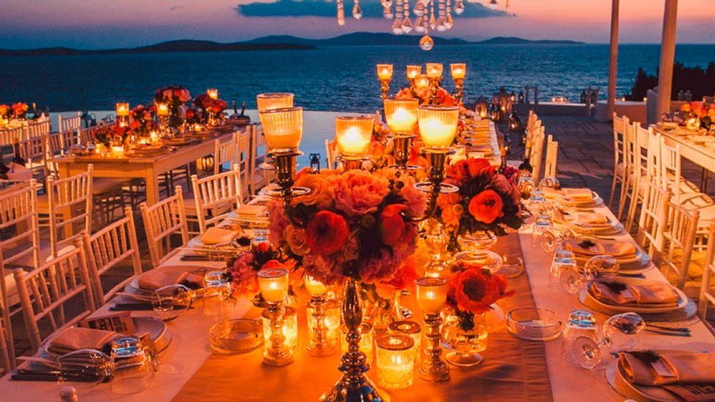 Кухня Санторини: свадьба на санторини, свадебное агентство Julia Veselova