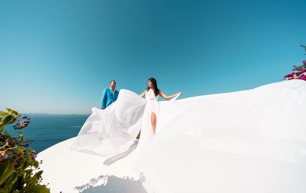 Иветта: свадьба на санторини, свадебное агентство Julia Veselova - Фото 14