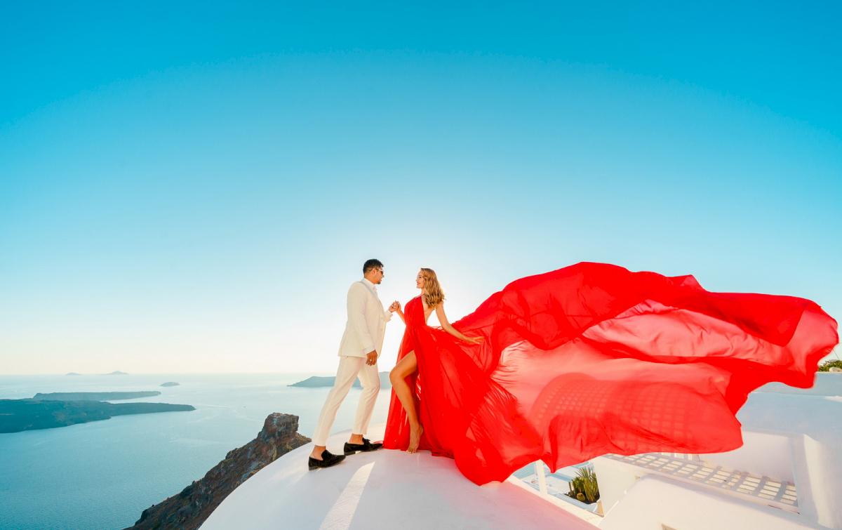 Фредди и Маргарет: свадьба на санторини, свадебное агентство Julia Veselova - Фото 9