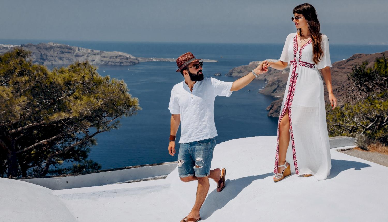 Joanna and James: свадьба на санторини, свадебное агентство Julia Veselova - Фото 11