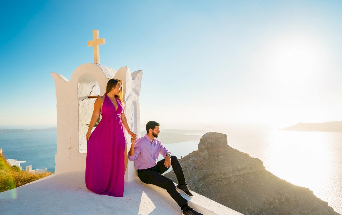 Levy Shady: свадьба на санторини, свадебное агентство Julia Veselova - Фото 3
