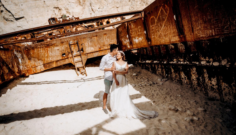 Sugar and Joe: свадьба на санторини, свадебное агентство Julia Veselova - Фото 12