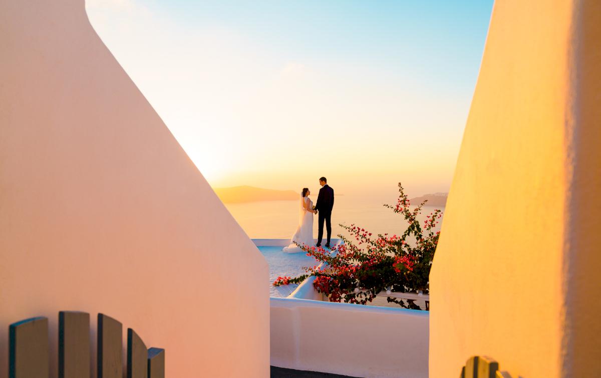 Виолетта и Александр: свадьба на санторини, свадебное агентство Julia Veselova - Фото 7
