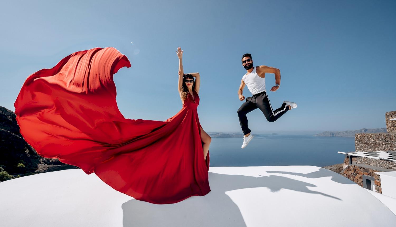 Joanna and James: свадьба на санторини, свадебное агентство Julia Veselova - Фото 3