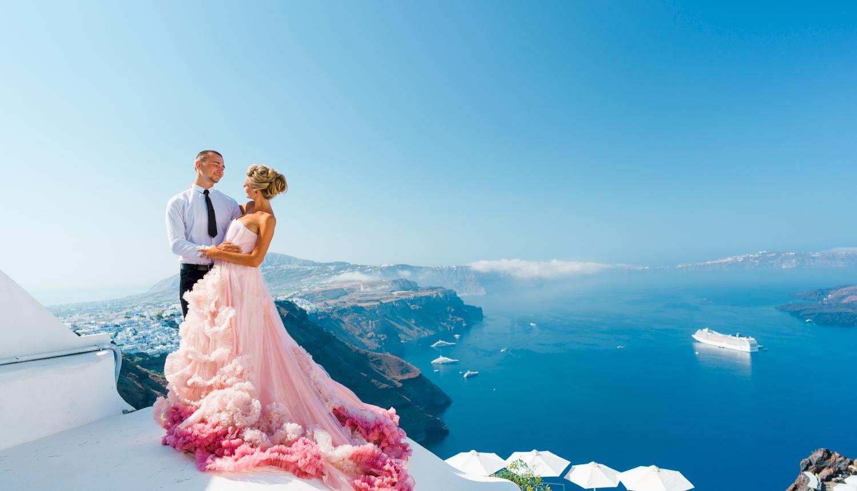 Инна и Сергей: свадьба на санторини, свадебное агентство Julia Veselova - Фото 8
