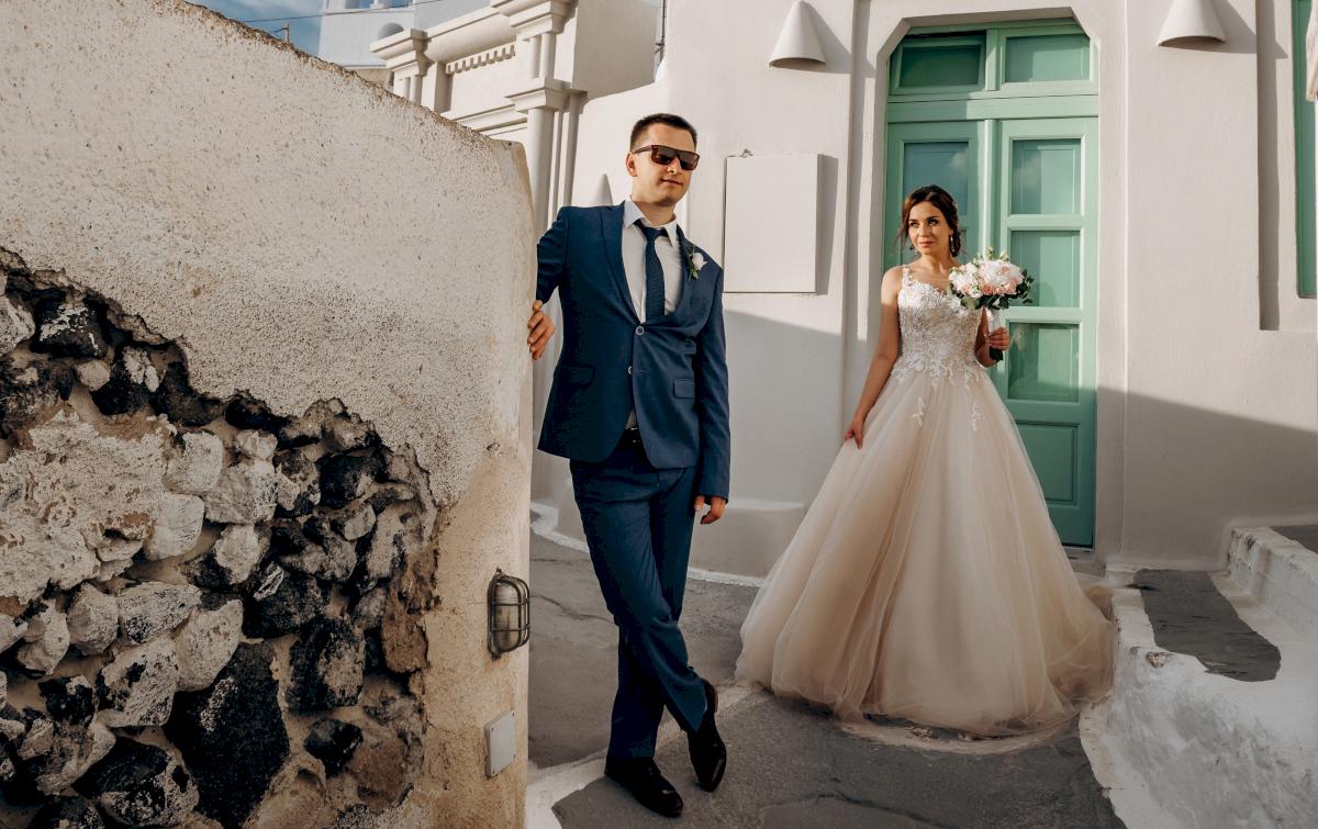 Юлия и Ярослав: свадьба на санторини, свадебное агентство Julia Veselova - Фото 4