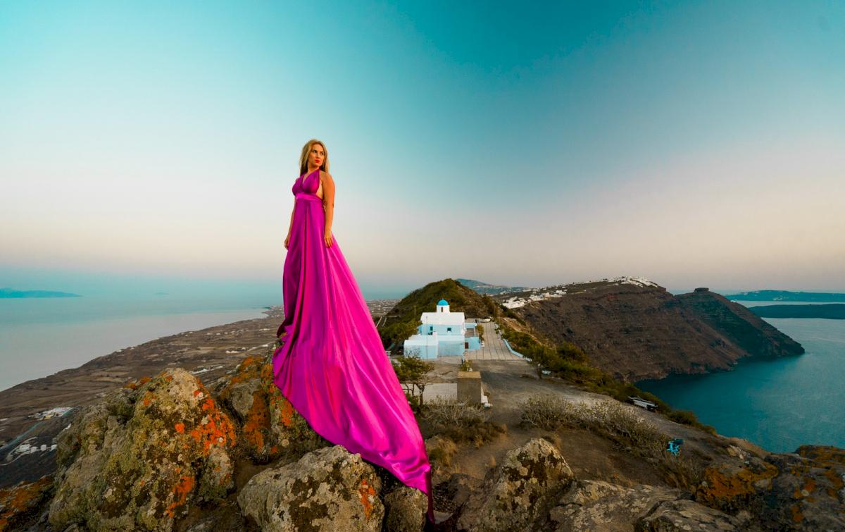 Елена и Виталик: свадьба на санторини, свадебное агентство Julia Veselova - Фото 4