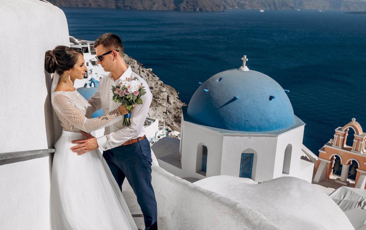 Анастасия и Иван: свадьба на санторини, свадебное агентство Julia Veselova - Фото 13