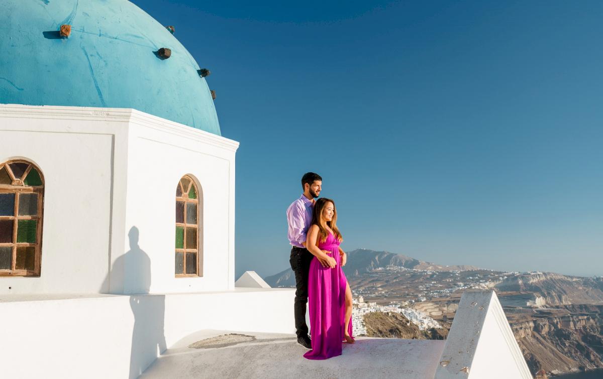 Levy Shady: свадьба на санторини, свадебное агентство Julia Veselova - Фото 7