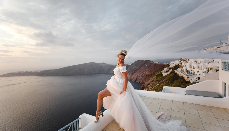 Darya & Jason: свадьба на санторини, свадебное агентство Julia Veselova - Фото 14