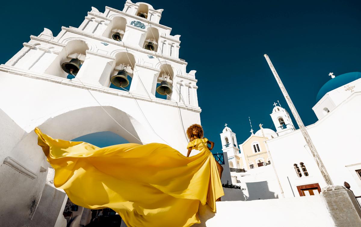 Моника: свадьба на санторини, свадебное агентство Julia Veselova - Фото 1