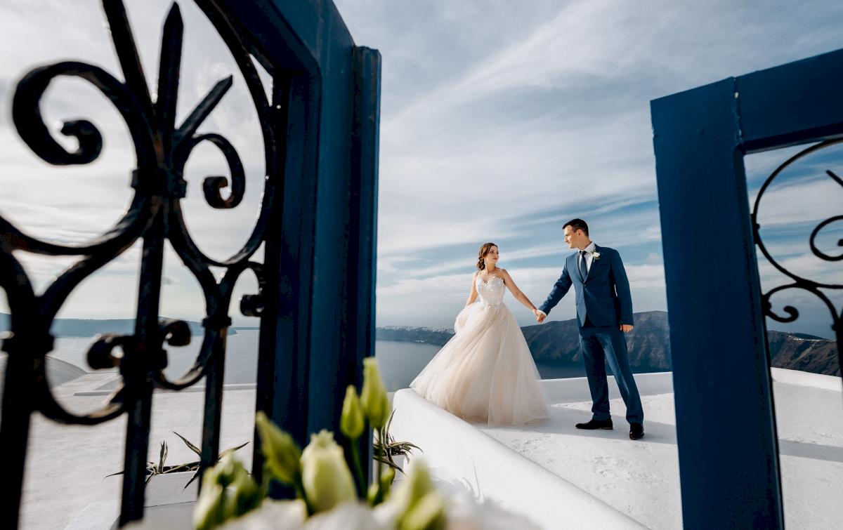 Юлия и Ярослав: свадьба на санторини, свадебное агентство Julia Veselova - Фото 1
